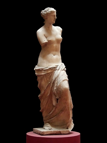 Beautiful statue of Aphrodite of Milos