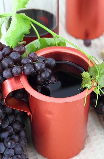 Greek red wine
