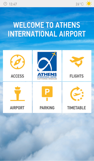 Photo of ATH Airport App application