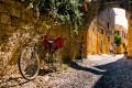 Traditional street, Rhodes island