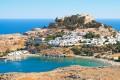 Lindos village, Rhodes island