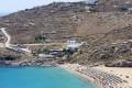 Exotic Super Paradise beach, Mykonos island